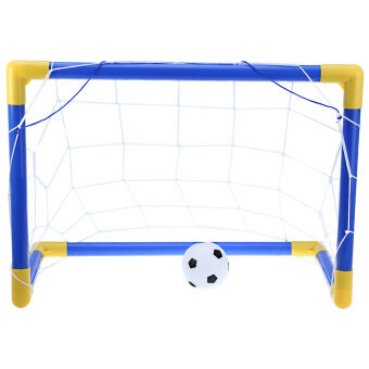 Mini Football Soccer Goal Post Net Set - intl