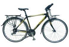 MIR จักรยาน รุ่น ADVENTURE 700C 24SPEED (สีดำ/ทอง)