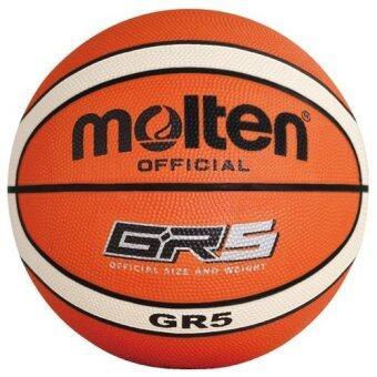 MOLTEN บาสเก็ตบอล ยาง มอลเทน Basketball RB BGR5-OI