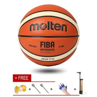 Molten GG7X Indoor Outdoor Premium Composite Leather BasketballOfficial Size 7 Basketball Ball PU Match Training Equipment - intl