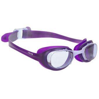 2561 Nabaiji แว่นตาว่ายน้ำ XBASE - (สีม่วง) มาตราฐานยุโรป