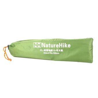 -เอ็น NatureHike พับ 2คนเต็นท์ใต้เสื่อ-สีเขียวทหาร