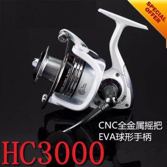 NBS 13 + 1BB Spinning Fishing Reel Professional Metal Left/Right Hand Fishing Reel Wheels(HC3000)