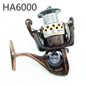 NBS Fishing Reel HA 13+1BB All Metal Spiner Lure Bait Reel 5.2:1Gear