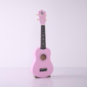 "ซื้อ/ขาย New 21"" Professional Soprano Ukulele Uke Wooden Hawaii for Kids Pink/Green/Blue - intl"