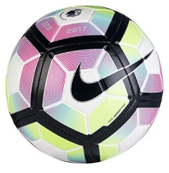 Harga Nike Premier League Strike Soccer Ball (White/Purple, 5) - intl