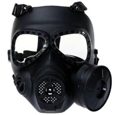 Nuclear War Crisis Series Protector Gas Mask Paintball and Airsoft With Fan (0089) - intl