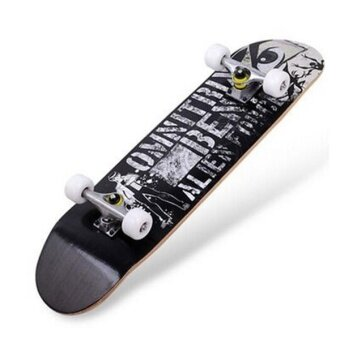 Ocean New Skateboards Unisex four-wheel Advanced skateboard 80 cmInstead of walking adult highway Brush street plate(Street boy) -intl