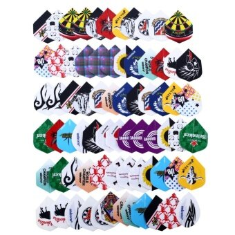 OEM 24 sets 72pcs 2D Cool Bling Dart Flights Darts Tail SportsProfessional