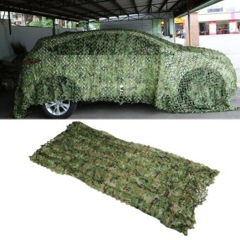 OH Camouflage Net Army Military Camo Net Car Covering Tent Hunting Blinds Netting 2*3M Jungle Green - intl