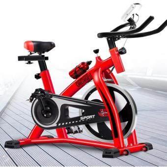 OneTwoFit จักรยานปั่นออกกำลังกาย สีแดง-ดำ