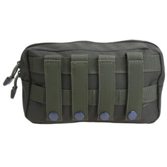 Outdoor 1000D Tactical MOLLE Accessory Pouch EDC Utility ToolBag(Green) - intl