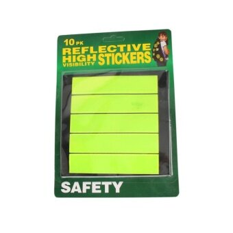 Harga Outdoor Reflective Stickers Baby Safety Reflector Decal for BagBikes - intl