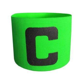 PAlight Soccer Basketball Flexible Adjustable Player BandsFluorescent Captain Armband - intl