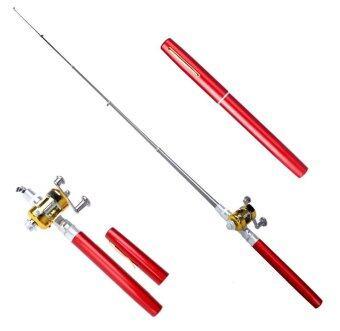 Pen Fishing Rod เบ็ดปากกา สีแดง