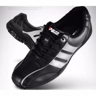 ราคา PGM รองเท้ากอล์ฟผู้ชาย PGM เบอร์42 (สีดำเงิน)