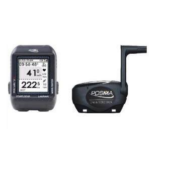 ราคา POSMA D3 อุปกรณ์นำทาง GPS สำหรับการปั่นจักรยาน ระบบคอมพิวเตอร์นำทาง and Speed Cadence Sensor Bundle