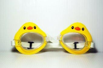 ประเทศไทย แว่นตาว่ายน้ำสำหรับเด็ก เป็ด (สีเหลือง)