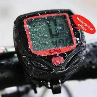 ไมล์วัดความเร็ว จักรยาน (สีดำ/แดง) - 5