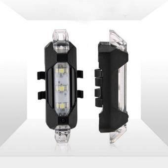 ไฟหน้าจักรยาน Rapid X (สีขาว) (USB)
