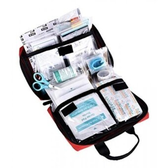 REEBOW TACTICAL GEAR 115 Piece First Aid Kit Medical Supply Survival Gear Bag for Car Home Office Outdoor Camping Hiking Travel Sports Earthquake Emergency Kits - intl