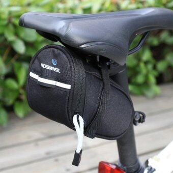 Roswheel Cycling Rear Bags Mountain MTB Bike Bicycle Saddle BagBack Seat Tail Pouch Black