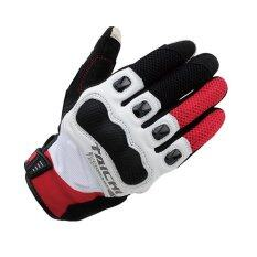 RS-TAICHI RST412 Winter Warm Waterproof Windproof Protective Gloves White/Red (Intl)