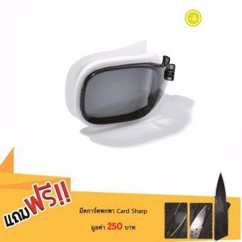 ซื้อ/ขาย เลนส์ปรับสายตาสำหรับแว่นตาว่ายน้ำ รุ่น SELFIT ขนาด L (สี SMOKE) สายตาสั้น -4 แถมฟรีมีดการ์ดพกพา card sharp มูลค่า 250 บาท