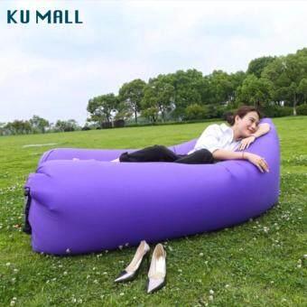 2561 SKYE Air Sofa โซฟาลม Original Hangout โซฟากล้วย ที่นอนเป่าลม เตียงลมแบบพกพา กลางแจ้งกันนำ้ พร้อมกระเป๋าสะพาย lazybag