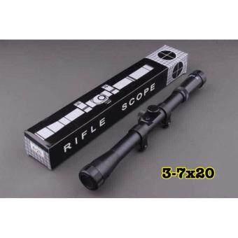 กล้องติดปืนขนาด Sniper Scope 4 x 20 - 4