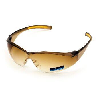 ราคา Sport Eyewear Polycarbonate UV400 แว่นกันแดดเลนส์นิรภัย รุ่น 739 (เลนส์สีชาไล่สี)