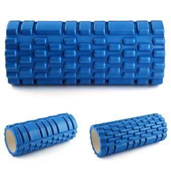ประเทศไทย Sport World โฟมโยคะ ลูกกลิ้งโยคะ Yoga Foam Roller Massage and Foam Roller (สีน้ำเงิน)