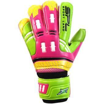 ราคา SPORTLAND ถุงมือโกล์ว ฟุตบอล Goal keeper Football Glove Lorenzo PK/GN