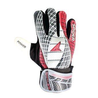 SPORTLAND Spider Goal Keeper Gloves No.10 - Black/Red