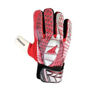 SPORTLAND Spider Goal Keeper Gloves No.6 - Red/Silver