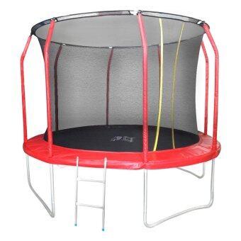 SPORTLAND แทรมโพลีน พร้อม บันได SPL Trampoline Net+Ladder10FT.Fairy (120 นิ้ว)