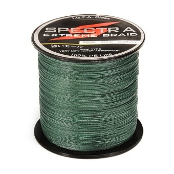 Strong PE Plastic Braided Fishing Line 30LB 0.28mm Diameter 500M Length