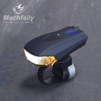 SUPER D SHOP ไฟหน้าจักรยาน Machfally USB Aluminium Light 400Lumens(Sensor light)