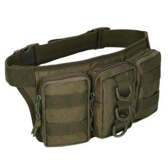 Tactical Waist Pack Pouch Belt Bags for Military Camping HikingClimbing Outdoor (#3) - intl