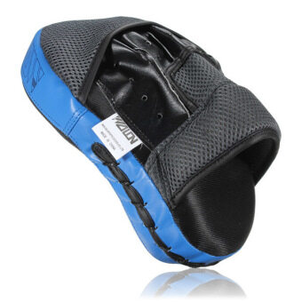 Harga Target MMA Boxing Mitt Focus Punch Pad Training Glove Karate MuayThai Kick New Blue