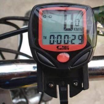 TD Mobile-ไมล์วัดความเร็ว จักรยาน (สีดำ/แดง)