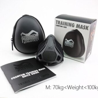 Training Mask [Original Black], Elevation Training Mask, FitnessMask, Workout Mask, Running Mask, Breathing Mask, Resistance Mask,Elevation Mask, Cardio Mask, Endurance Mask For Fitness - intl