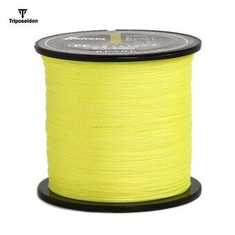 Triposeidon 500M 8 - 60 LB Good Quality PE Braided Fishing Line(6.0) - intl