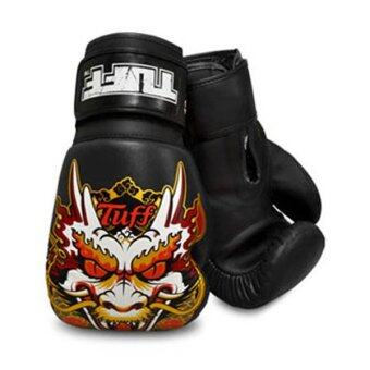 ราคา Tuff MuayThai Gloves Dragon Black
