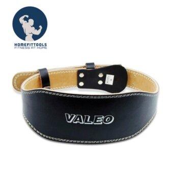 VALEO เข็มขัดยกน้ำหนักหนัง รุ่น Leather Belt สำหรับเวทเทรนนิ่ง Size- S