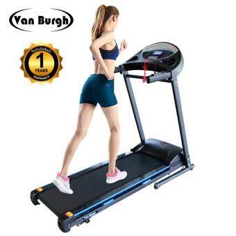 Van Burgh ลู่วิ่งไฟฟ้า เครื่องออกกำลังกาย Motorized Treadmill 1.75 HP รุ่น TP-105