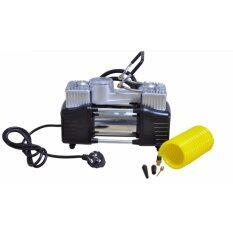 VAUKO : CAMEL 2 PISTON ELECTRIC AIR COMPRESSOR PUMP 220V เครื่องสูบ/ที่สูบลมรถยนต์ มอเตอร์ไซด์ จักรยาน ใช้ไฟที่จุดบุหรี่ ใช้ไฟบ้าน 220 V ได้ รุ่น CAMEL-220V-02