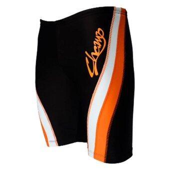 WANAKA กางเกงว่ายน้ำ CHM452 (Black/Orange) - 4
