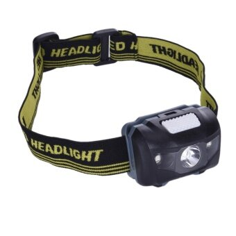 Waterproof Mini COB Headlight LED Flashlight Outdoor Headlamp WithHeadband For Cycling Riding Camping Head Light - intl