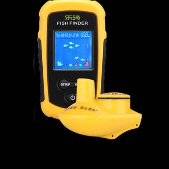 Wireless Fish Finder Sonar Fishfinder 40m Depth Range Ocean Lake Sea Fishing - intl